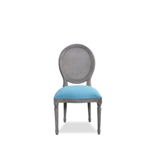 Oval Dining Chair /Rattan Backseat  CAM-022