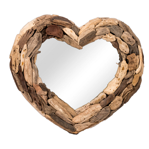 Love Driftwood Mirror (L)  KDA-006