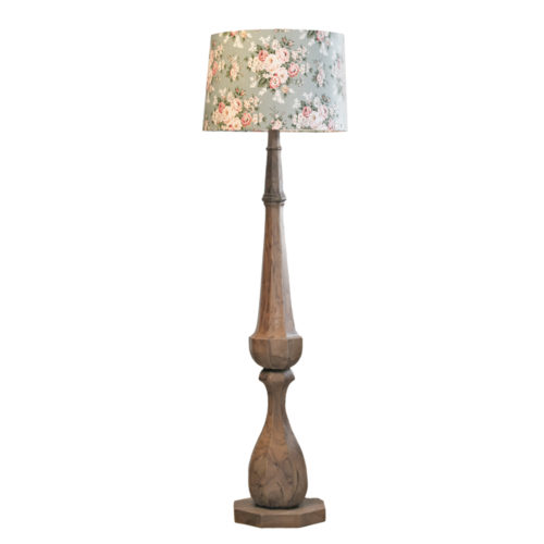 Baltimore Recycled Teak Floor Lamp  GLV-110