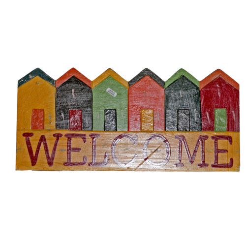 6 House Welcome Colour Full  MAB-002