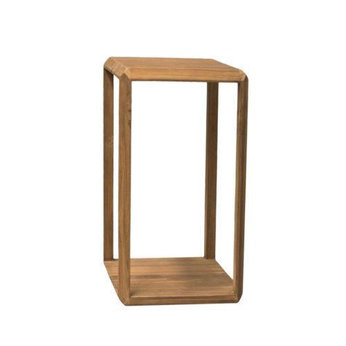 Planstand teak wood BEVEL  RDD-009