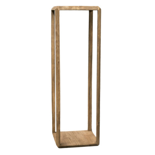 Planstand teak wood BEVEL  RDD-011