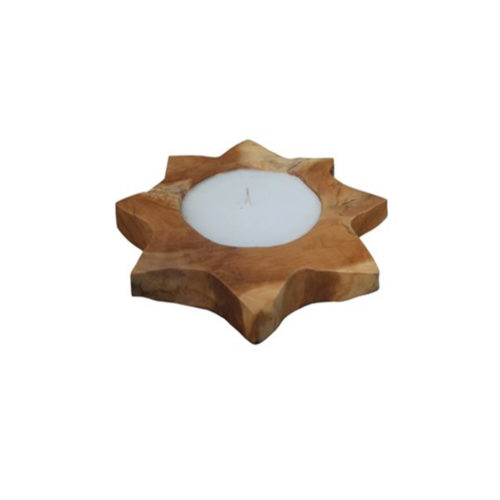Candle Star 8 Teak ANC-003