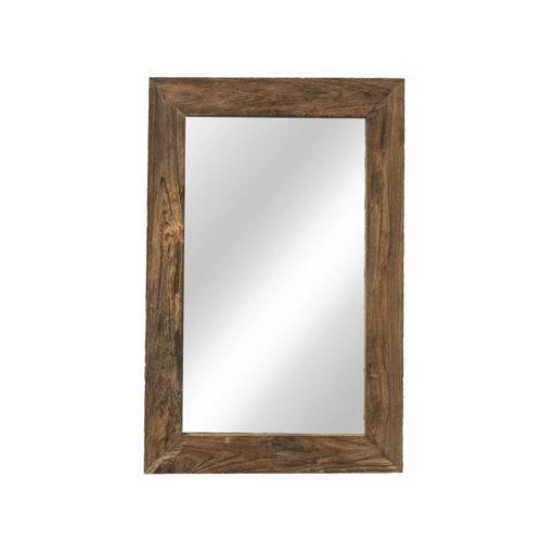 "Very rustic mirror 120 x 80 ""Teak""  IMP-009"