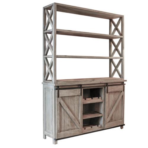 Pallet Barn Door Cabinet  GLV-039