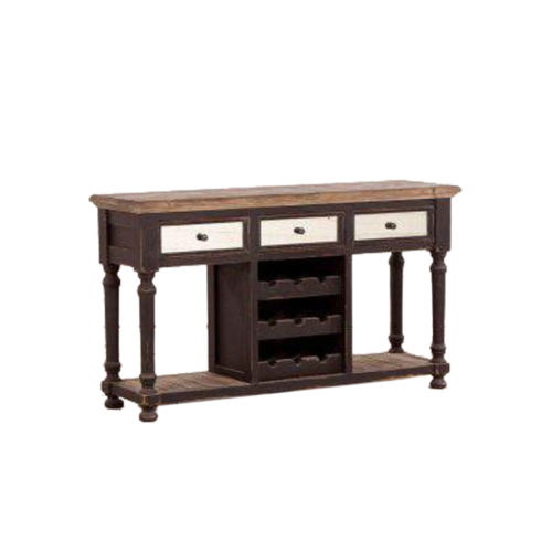 Georgia Sideboard 3 Drawers & Wine Rack   DAB-039