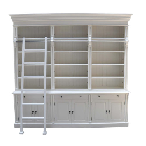 Three Bay Bookcase  CAM-015