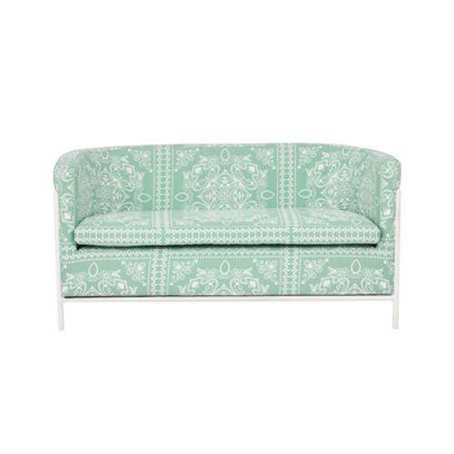 Club chair  2 seat  KLE-007