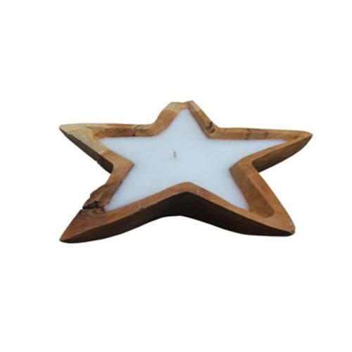 Candle Star 5 Teak ANC-002