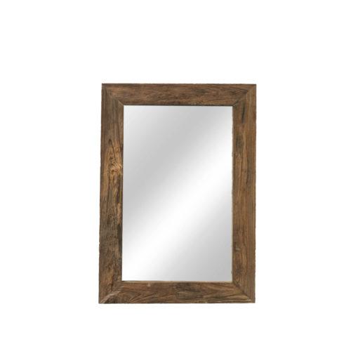 "Very rustic mirror 90 x 60 ""Teak""  IMP-011"