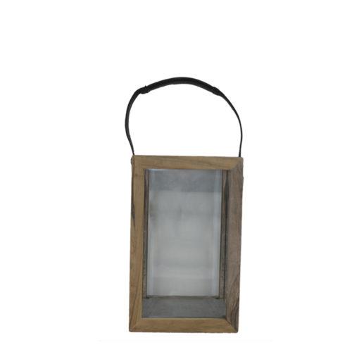 Lantern Art Teak M  KRM-010
