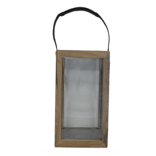 Lantern Art Teak L  KRM-011