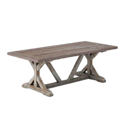 Cross Leg Table 240   DAB-042